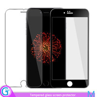 High quality tempered glass screen protector for iphone 6 plus