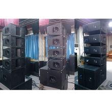 outdoor stage sound system horn is H90*V60 design 800w speakers subwoofer