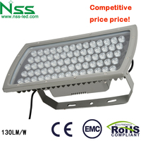 Good price with high quality CE ROHS 120-130lm/w 70w led flood light high lumen led outdoor flood light