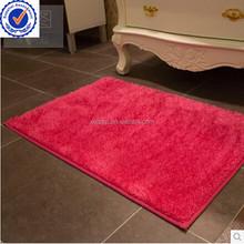 Decorative home decor anti slip rubber floor mat price