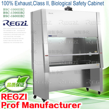 <Stainless Steel> Laboratory Equipment /100% Exhaust,Class II,Biological Safety Cabinet