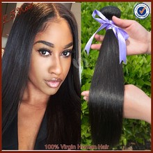 Cheap Straight Wave Human Hair Weave Wholesale 6A Remy Brazilian Straight Hair
