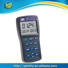 Três eixos EMF Tester confiável e maneira fácil de medida eletromagnética campo de radiação níveis em torno de linhas de energia TES-1393