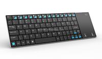 DIHAO mini i12 2.4G mini wireless keyboard and mouse for Laptop PC TV Box , Aluminum Back