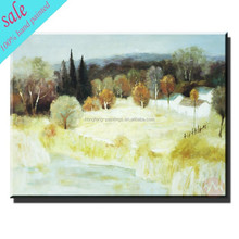 Modern abstract oil painting on canvas art