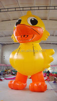 Lively waha customized yellow giant inflatable promotion duck