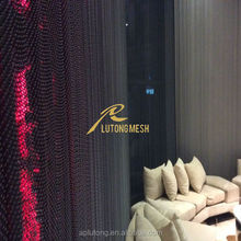 Home decorative curtain metal coil drapery with good quality and cheap price