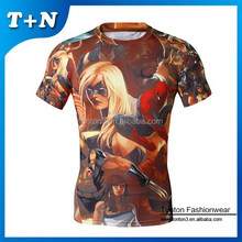 online shopping india 3d full printed whosale men print t shirts