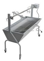 HW-2262 Stainless Steel/Iron Pig roaster For Sale 139X47X92CM