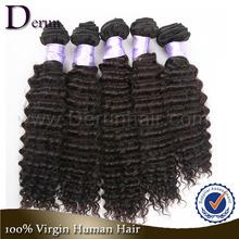 Deep Wave Remy 100 Human Hair Single Donor Raw Virgin Cheap Brazilian Hair Wholesale