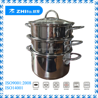 2015 Zhifa new stainless steel mulifunction pot/steam pot