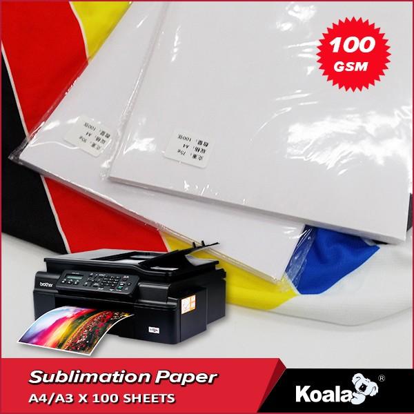100gsm secagem r pida sublima o jato de tinta papel de - Papel de transferencia textil ...
