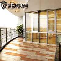 Foshan 450x900 Modern non-slip 6d inkjet Glossy polish wood floor tiles house plans building material made in China