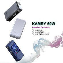 japan electronic cigarette Kamry 60 watt box mod 7w~60w, magnet back cover kamry60 watt best electronic cigarette brand in china