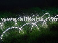 White LED Rainbow Arches Lawn Lights