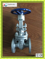 DN25 carbon steel flanged gate valve