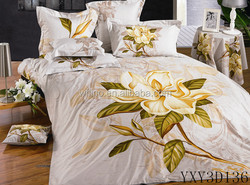 European Style Bedsheet twill 2015New product reactive printing design king size modern duvet cover set Bedding