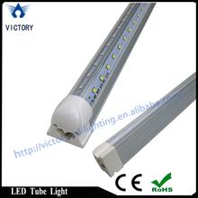 Shenzhen led manufacturer IP54 cooler door led lighting double sided/v shape ce rohs certificate for whole sale