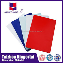 Alucoworld Best Sale 2/3/4/5/6mm Building Construction Material raw materials for Aluminium composit Panel
