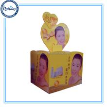 Supermarket Dump Bin Display For Cosmetic Promotion,Cardboard Dumpbin For Supermarket