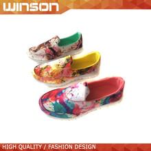 2015 confort plana zapatos casuales para mujer china