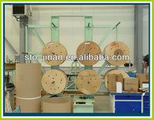 Transformer coil decoiler for coil winding machine