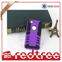 Purple Color Heavy Duty Mobile Phone Case for iphone 6