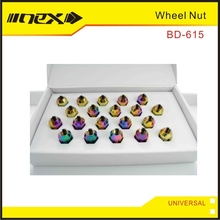 Universal Racing M12X1.5 Forged Aluminum Wheel Lug Nuts