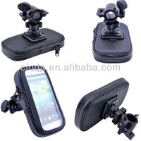 WaterProof Motorcycle Bike Handlebar Mount Case For Samsung Galaxy S3 S4 i9500
