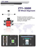 Newest 3D Wheel Alignment ZTY-300M Automatic tracking Deluxe Edition better than Wireless wheel alignment X-631+