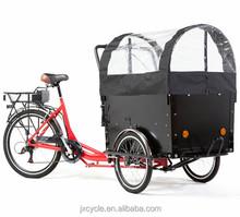 3 Wheel Electric cargo bike/cargo tricycle/reverse trike