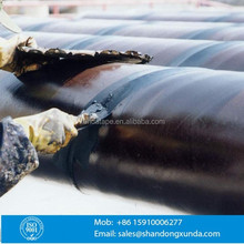 mastic putty for smoothing surface of pipeline