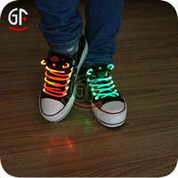 Wholesale Made in China New Supply Lime Green Led Party Shoelaces