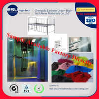 Fashion Metal bassinet accessories Epoxy polyester Stainless Steel baby bed powder coating