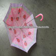 mariquita paraguas niños con dosel