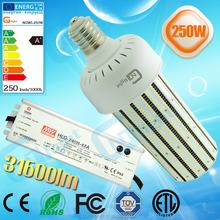 best quality energy efficient 250w street light bulb e40 smd 2835 led corn bulb