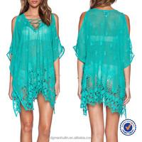 2015 summer new design sheer beach kaftans tunics dubai kaftan dress bulk buy from china