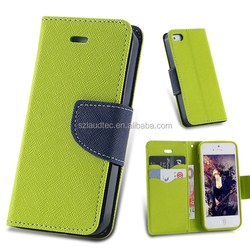 Colorful Stand Leather Magnetic Wallet Case for Iphone 5 for iphone6 for iphone6 plus