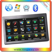 Factory Tingway Brand GPS Car/GPS Navigation with Free Maps and 1 Year Warranty