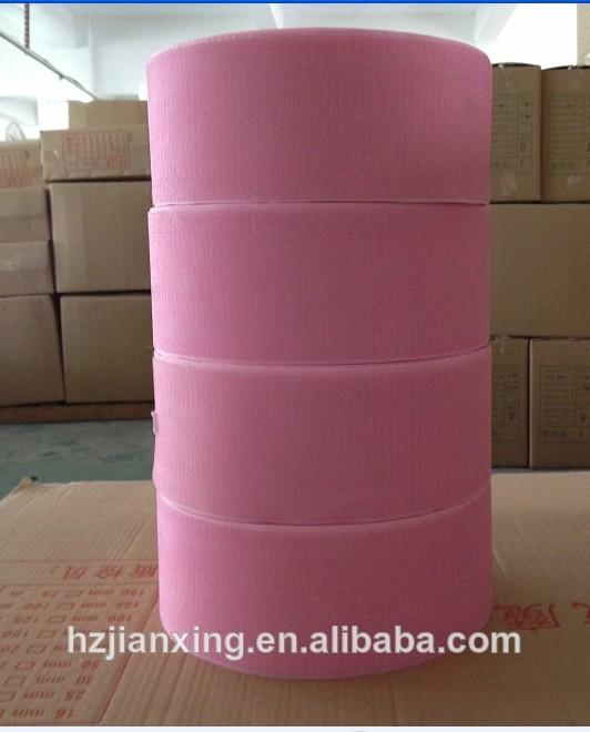 b grau de nylon mistura de poliéster fita de velcro