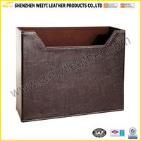 Handmade New Design Magazine Gift Basket flannelette/ flax lining Customized Gift Basket
