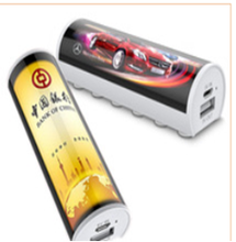manufacturer unique design power bank with a place for advertisement