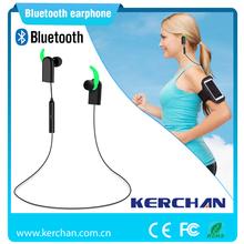 Free sample in ear sport earphones bluetooth, mini wireless bluetooth earphone for iphone 6