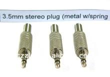 3.5mm stereo audio plug