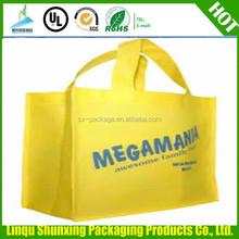 custom print zipper bag/carrefour shopping bag/non-woven bag