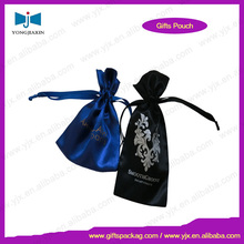 one drawing string gift satin bag