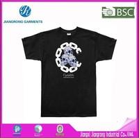 Wholesale china 3D pringting t-shirt, superman t shirt, men short sleeves round collar t shirt