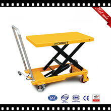 TOP sales Ningbo China hydraulic table lift option with board,lift table flat car