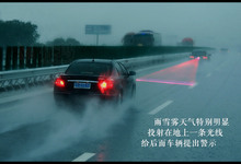 useful and cheap car laser fog lamp to prevent the crash