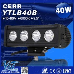 HIGH Quality off road LED Light Bar 20w 40w 80w 40w for motorcycle